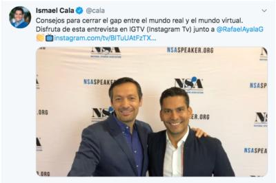 Ismael Cala. Periodista, escritor, conferencista y presentador.